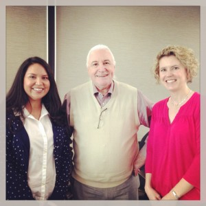 Here I am with Joe Willhoft, SBAC Executive Director, and my friend Gabriela
