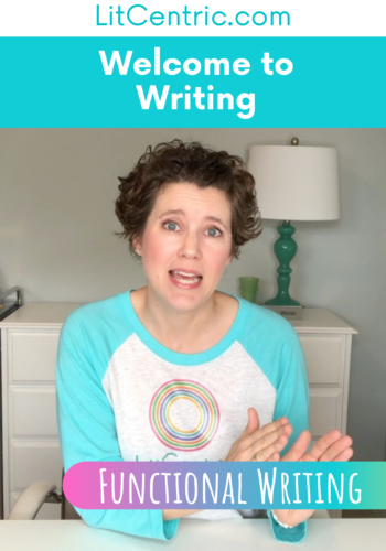 Functional Writing Welcome to Writing LitCentric